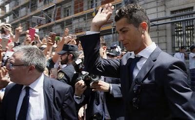 An kulle Ronaldo a kotu