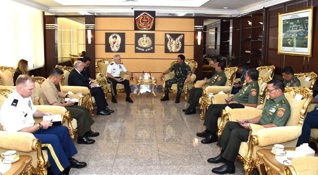 Panglima TNI Menerima Kunjungan Komandan USSOCOM