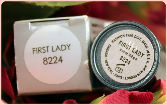 First Lady Lipstick by Fashion Fair