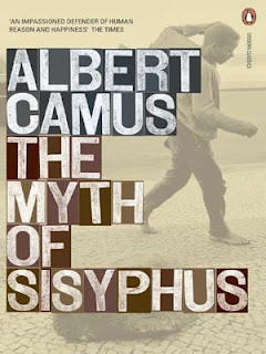 The Myth of Sisyphus by Albert Camus book cover