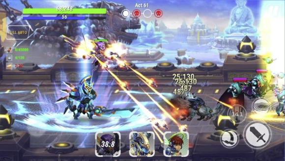 Download Heroes Infinity Mod Apk Unlimited Coins Gems Terbaru 2018