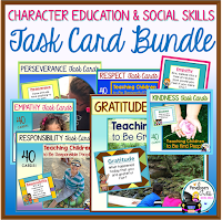 Task Card Bundle - Character Education