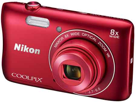 Nikon Coolpix S3700 Digitalkamera