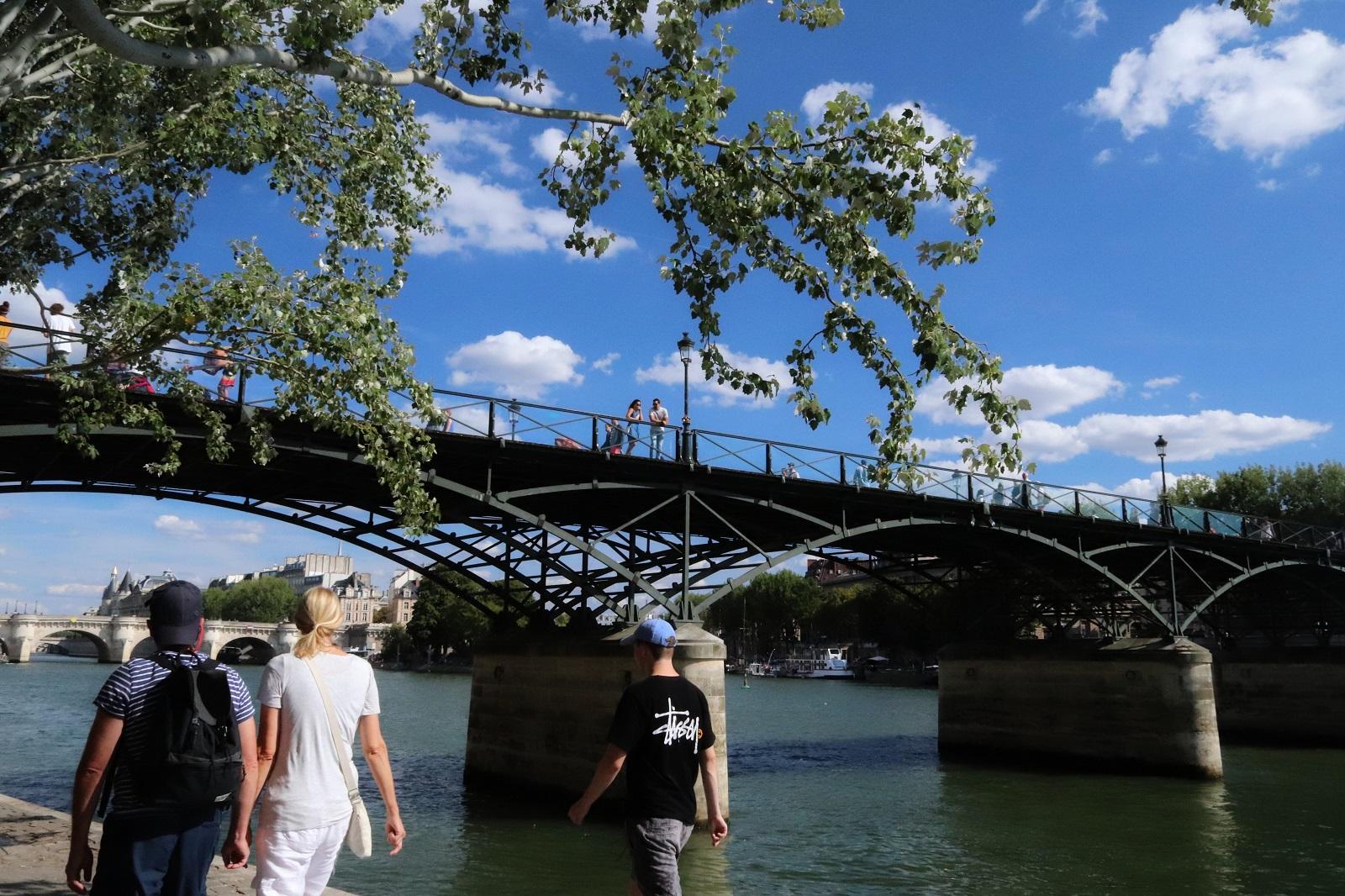 Pont, fleuve