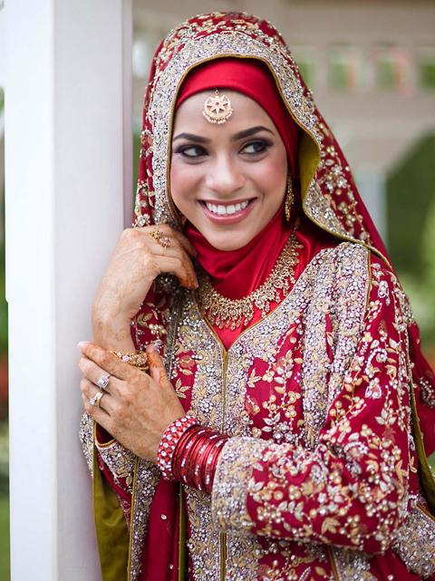 baju muslimah gaya india