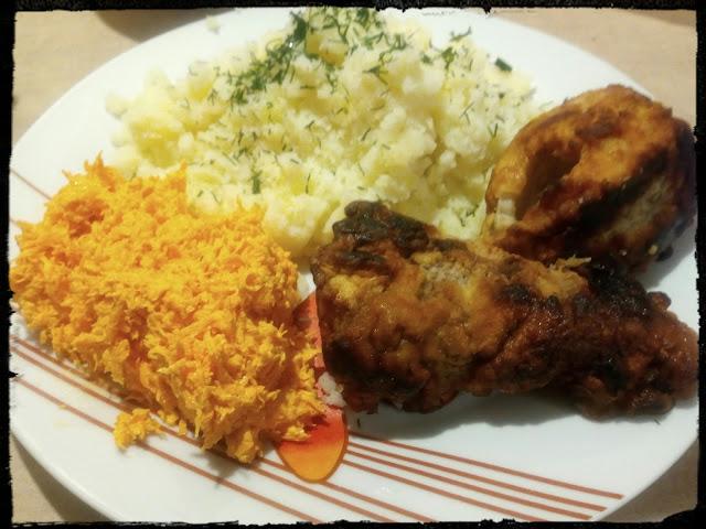 surowka z tartej marchewki z chrzanem salatka surowka do obiadu