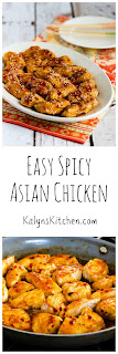 Easy Spicy Asian Chicken [found on KalynsKitchen.com]