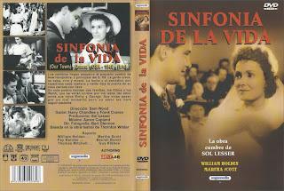 CARATULA: Sinfonía de la vida (1940)