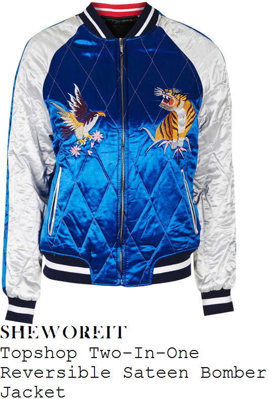 ashley-james-topshop-bright-blue-white-tiger-eagle-embroidery-detail-long-sleeve-sateen-two-in-one-reversible-bomber-jacket