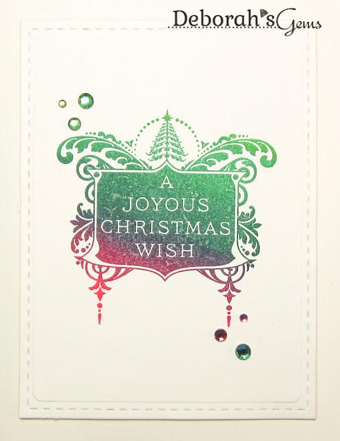 Joyous Christmas Wish - photo by Deborah Frings - Deborah's Gems