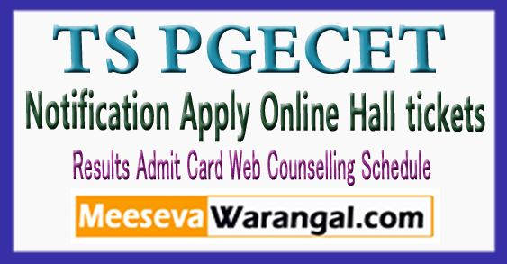TSPGECET 2018 Application Online