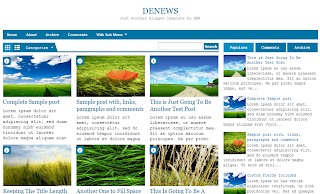 DeNews+Blogger+Template