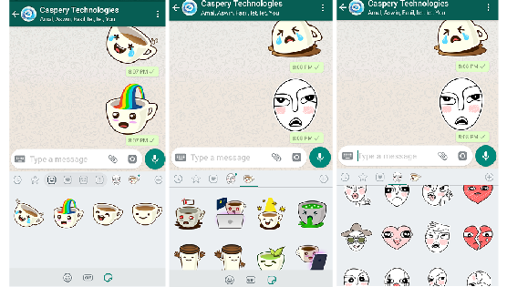 New update brings stickers in whatsapp