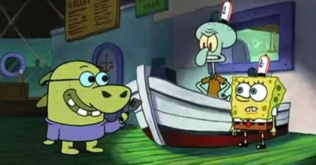 Squidward: Siapa yang memainkan lampu?