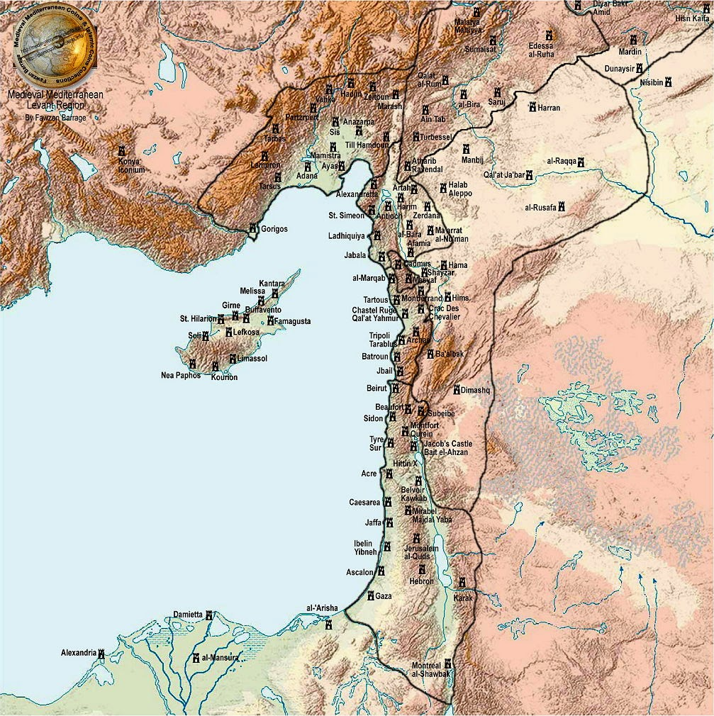 A history of the crusades in the holy land