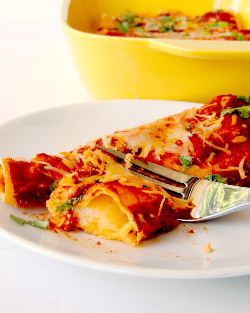 Easy Cheese Enchiladas | Bobbi's Kozy Kitchen