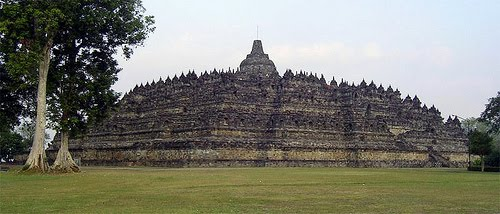 Borobudur have been buried