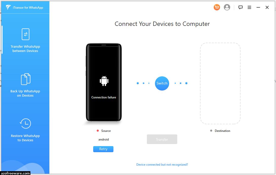 iTransor for WhatsApp 3.4.0.1 - WhatsApp資料Android轉iPhone雙向轉移 - 阿榮福利味 - 免費軟體下載