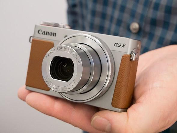 Canon PowerShot G9 X Mark II, компактные габариты