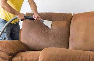 Microfiber Sofa - Material Care
