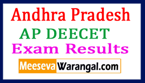 AP DEECET Results DIETCET Results 2017 Download