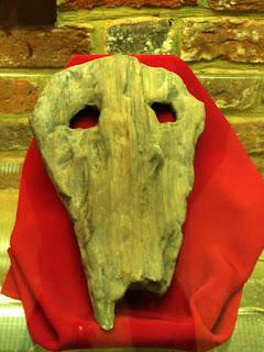 słowiańska maska obrzędowa z Opola - replika