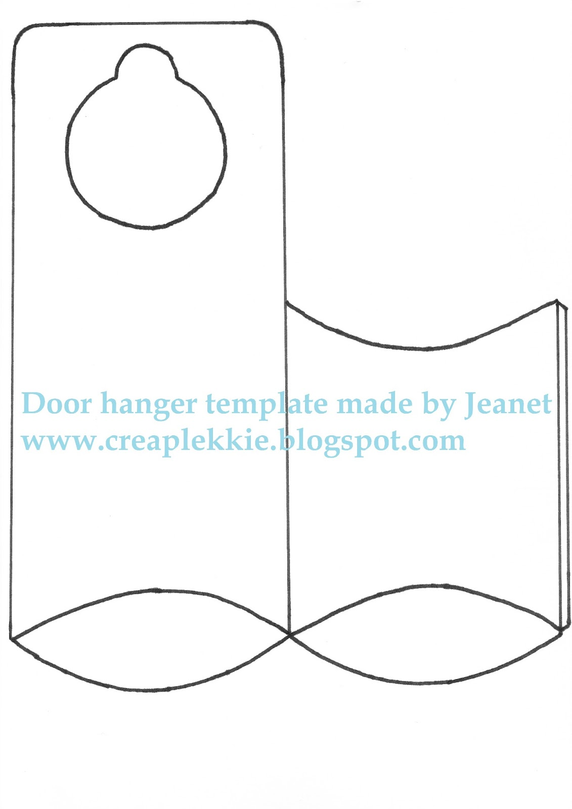 whiff of joy tutorials inspiration door hanger template. Black Bedroom Furniture Sets. Home Design Ideas