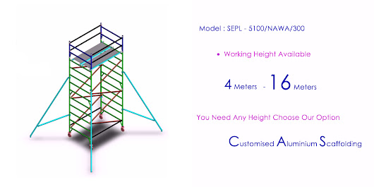 Popularity of Mobile scaffold tower – Used Construction Site