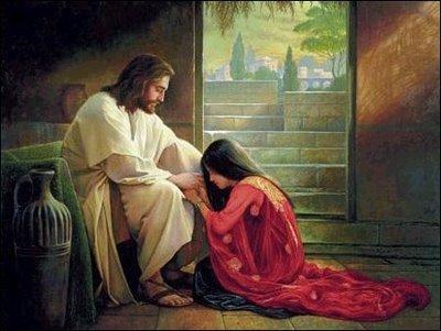 Resultado de imagem para A Pecadora Perdoada