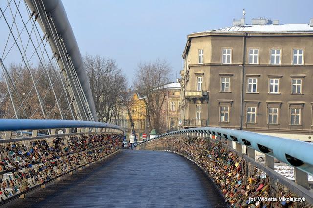 Krakowskie zakątki- po drugiej stronie Wisły.