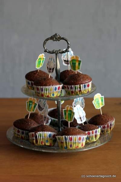 Klassische Schokoladen-Muffins