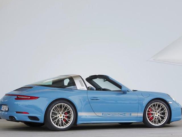 2016 Porsche 911 Targa 4S Exlusive Design Edition