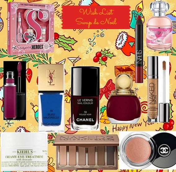 wish list de Noël