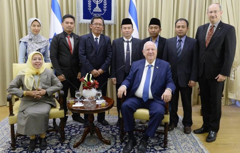 Pejabat MUI bertemu Presiden Israel