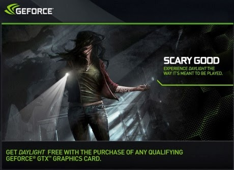 game Daylight, Daylight, GeForce, NVIDIA GeForce, games, Daylight bundled for GeForce, games,