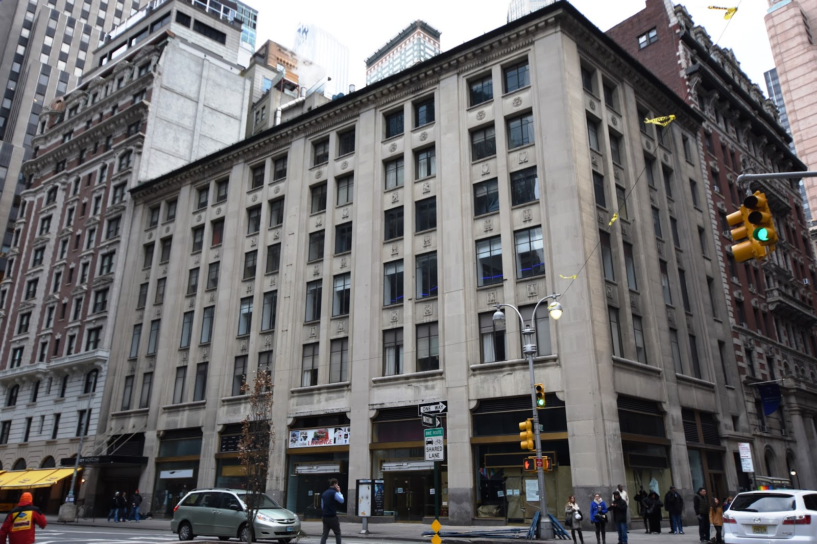 Daytonian in Manhattan: Albert Kahn's Ford Motor Bldg -- No. 1710 Broadway