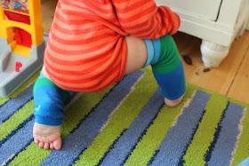 bis ein Knie den Boden berührt
