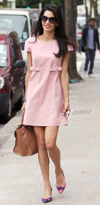Amal-in-Paule-Ka-Pink-Dress