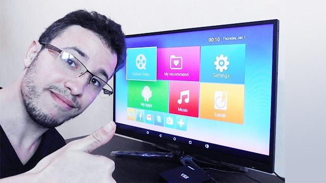 تحويل اي تلفاز عادي الى smart tv