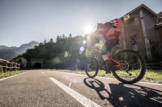 E-Bike: Monte Nische 1454 m.ü.A. Julischen / Karnischen Alpen MTB