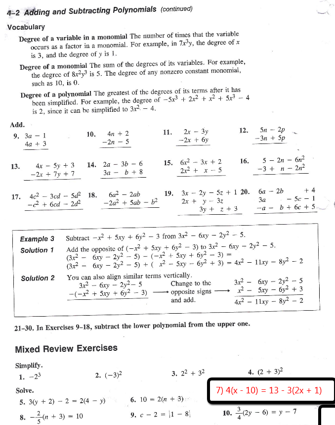 Algebra With Pizzazz 162 Worksheet Worksheets for all | Download ...