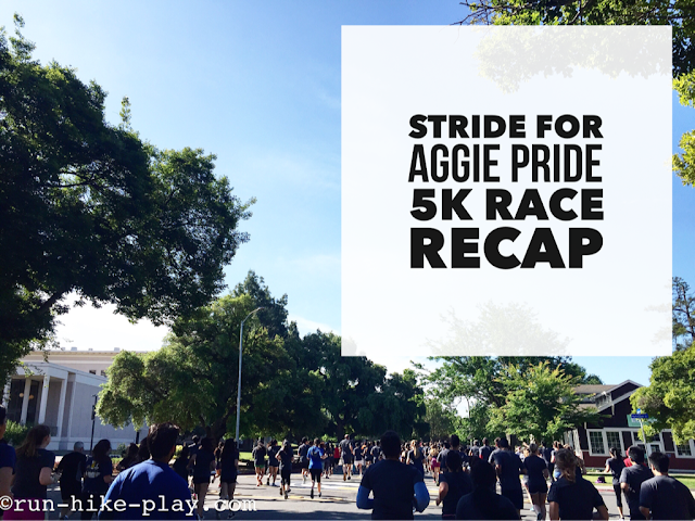 Stride for Pride Aggie 5K Race Recap