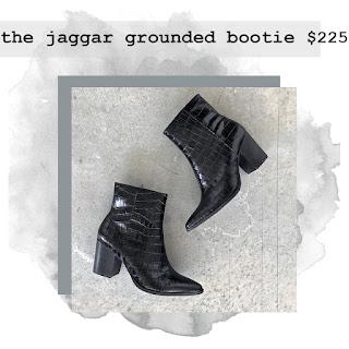jaggar grounded bootie bird bee detroit