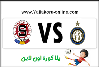 internazionale vs ac sparta prague live