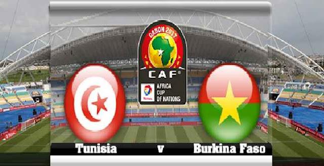 توقيت مباراة تونس وبوركينا فاسو السبت 28-1-2017 والقنوات الناقلة للمباراة