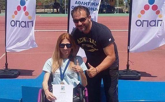 Ήγουμενίτσα: Χρυσό μετάλλιο στο ακόντιο στο Πανελλήνιο πρωτάθλημα ΑμεΑ για τη μαθήτρια του Εσπερινού Λυκείου Ηγουμενίτσας Βούλα Κατσούλη