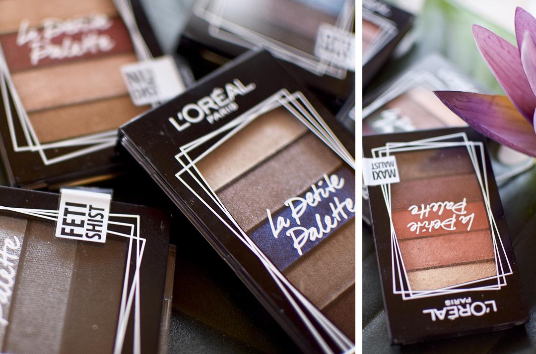 wie gut ist die L'Oréal Paris La Petite Palette, Swatches