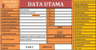 Aplikasi Administrasi Kelas Lengkap K13