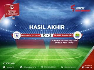 Persipura vs Persib 0-2: Djanur Bersyukur, Jafri Kecewa