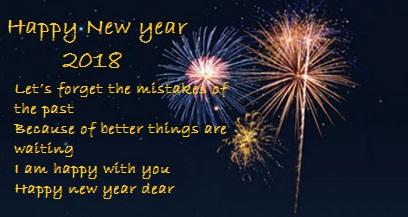 Ucapan Selamat Tahun Baru 2018 Bahasa Inggris